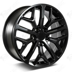 18 2020 Si Style Satin Black Wheels Fits Honda 5 Lug Civic Accord