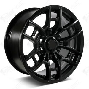 17 Pro Style 2020 Satin Black Wheels Fits Toyota Tacoma 4runner Fj Cruiser