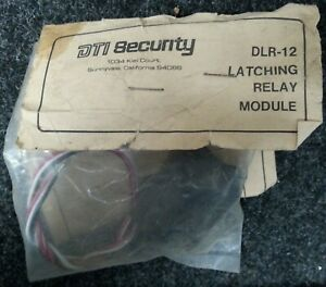 Dti Security Dlr 12 Latching Relay Module Nos Unopened