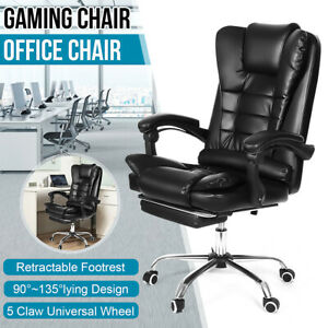 Heavy Duty Office Chair Massage Chair Swivel Computer Executive Leather Recliner