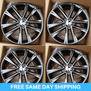 New 19 Metalic Fsport Rims Wheels Fits Lexus Nx Rx Toyota Highlander Venza