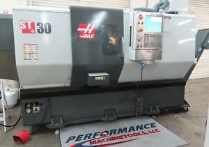 Haas St 30 Cnc Lathe With 10 Chuck 3 Bar Capacity Yr 2012