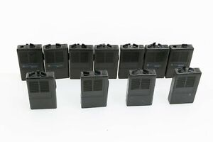lot Of 11 Minitor Ii 2 Motorola Pagers For Parts Low Band 33 xx Mhz lot 1