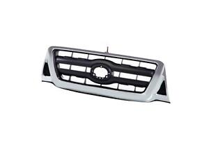 Chrome Grille Shell Surrond With Black Insert For 2005 2008 Toyota Tacoma Pickup