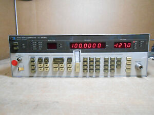 Hp 8656a Signal Generator 0 1 990mhz