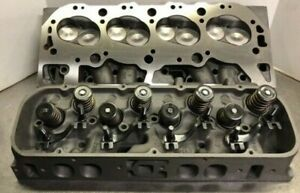 Pair Big Block Chevrolet Cylinder Heads