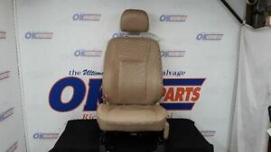 15 16 17 Ford F150 Lariat Driver Left Front Seat Assembly Tan Leather Heat Cool
