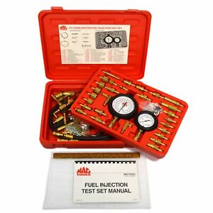 Briefly Used Mac Tools fuel Injection Tester Set fit1100ms Complete Excellent