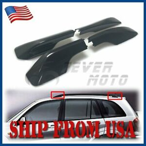 Us Fit For 2001 2005 Toyota Rav4 Roof Rack Rail End Cover Shell Replacement Fm