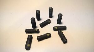 1 4 20 X 3 4 Socket Set Screw With Nylon Pellet 10 Each