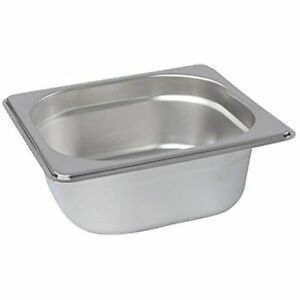 Lot45 Stainless Steel Steam Pan 1 6 Size Hotel Table Pans Chafing Buffet For