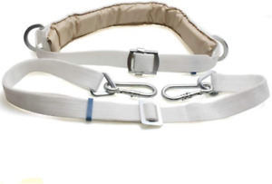 Safety Belt With Adjustable Lanyard Tree Climbing Construction Harness