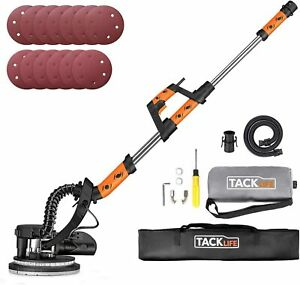 Drywall Sander Tacklife 800w Electric Sander With 13 Pcs Sanding Discs And Vacu