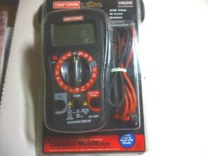 New Craftsman Compact Multimeter No 348235