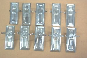 1955 1956 Ford Crown Victoria Roof Tiara Molding Clips set Of 10 New 55 56
