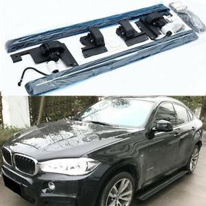 Deployable Electric Running Board Side Steps Fit For Bmw X6 2015 2019