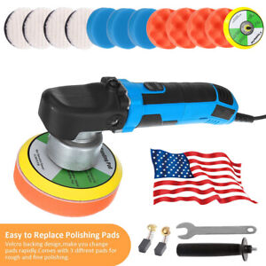 Electric Da Car Polisher Buffer Sander Dual Action Polishing Machine Home Waxer