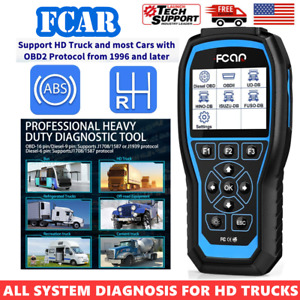 F507 Heavy Diesel Truck Full System Scan Scanner Tool For Isuzu Ud Hino Fuso