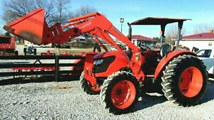 2010 Kubota M7040 4x4 Loader Hydraulic Shuttle free 1000 Mile Delivery From Ky