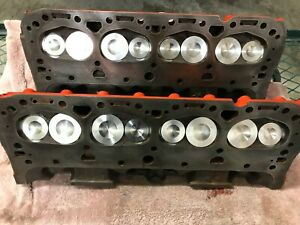 New Price Chevy Sbc 461 Double Hump Heads 2 05 1 60 Stanless Valves Z28 Springs