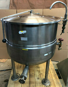 Cleveland Kdl 40 Stainless Steel Steam Kettle 40 Gallon