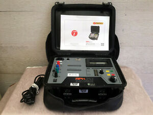 Tentech Mpk 253 Cased Digital Micro ohmmeter With Inbuilt Battery Charger