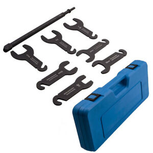 Pneumatic Fan Clutch Wrench Removal Installation Tool Set Fit Chrysler For Gm