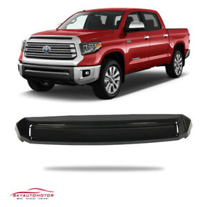 Fit Toyota Tundra 2014 2020 Trd Pro Front Hood Bulge Aftermarket Gloss Black