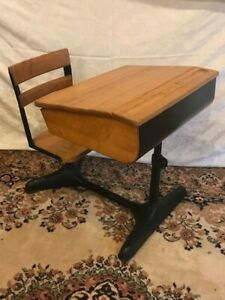 Antique Childs School Desk