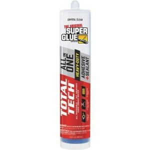 The Original Super Glue Total Tech Polymer Construction Adhesive