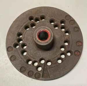 Antique John Bean 55 J Wheel Balancer Mounting Plate A