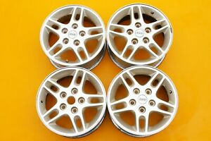 Jeep Grand Cherokee 1999 2004 Gold Machined 16 Oem Set Of 4 Wheels Rims 455