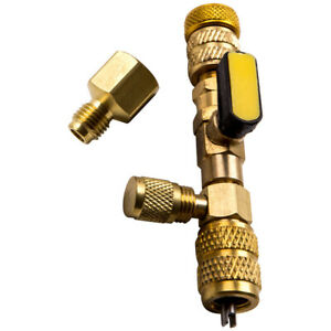 Tool Valve Core Remover Dual Size 1 4 And 5 16 Port Installer r410 R32 Hvac ac