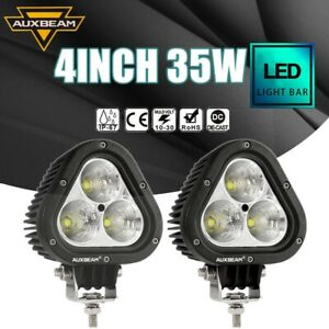 Auxbeam 4 Pods Led Work Lights Combo Beam Truck Off Road Tractor Driving Lamps