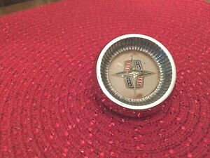 1956 1957 Lincoln Continental Mark Ii Steering Wheel Horn Button