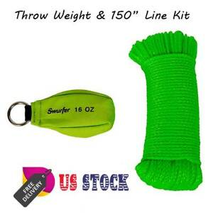 Throw Weight 150 Line Equipment Kit Arborists Tree Climbing Swing Installatio