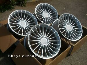 New 4x20 Inch Alpina Style Wheels For Bmw 3 4 Gt F30 Silver Alloy Wheels Concave