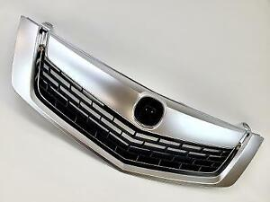 Fit 2009 2010 Acura Tsx Front Upper Grille Grill Mesh Cover Chrome Molding