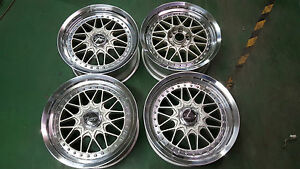 Work Barosso 17 Bbs Oz Bmw E30 Vw Mk2