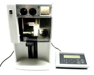 Beckman Coulter Cell Particle Counter Size Analyzer Z2 Manual Controller Z1