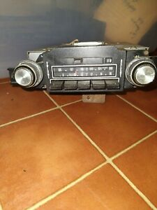 Vintage Delco Gm Car Radio