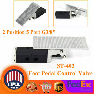Foot Pedal Operated Control Valve 2 Position 5 Port G3 8 Air Pneumatic Switch