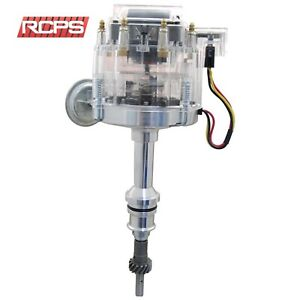 New Clear Cap Hei Distributor For Ford V8 302 5 0l Efi Carburator Conversion