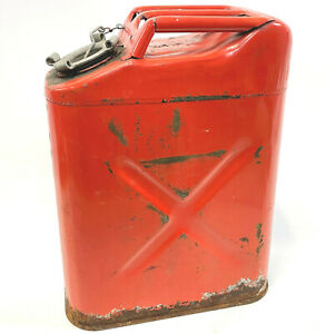 Steel Usmc Military 5 Gallon Fuel Jerry Can 20 5 69