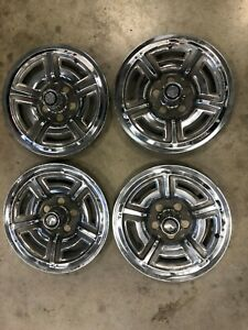 66 67 Ford Galaxie 500 Xl Hubcaps Wheel Covers
