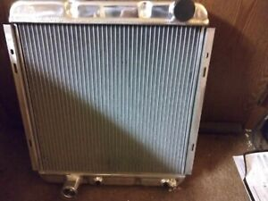 1961 1967 New Ford Econoline Pickup van Aluminum Radiator