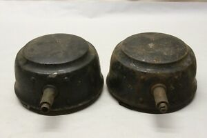 Vintage 1920 S E J Edmund Jones Electric Headlight Buckets Model T Era Ford