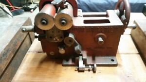 Perkins Machine And Gear Co Bench Top Spring Winder coiler Inv14461