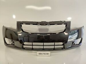 Am Front Bumper Cover For 2011 2014 Chevrolet Cruze W Fog Lamp Holes