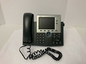 Cisco Cp 7945g Voip Ip Phone W Handsets And Stands